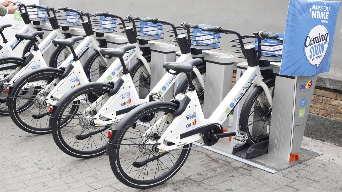 "La tecnologia Emoby per il Bikesharing elettrico ""Napoli 'N Bike"""
